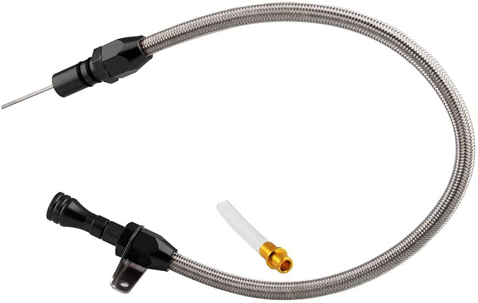 Chevy GM TH350 Stainless Braided Transmission Kickdown Cable Chevrolet Turbo 350