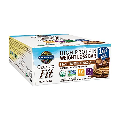 Garden of Life Organic Fit Bar Peanut Butter Chocolate (12 per Carton) ()