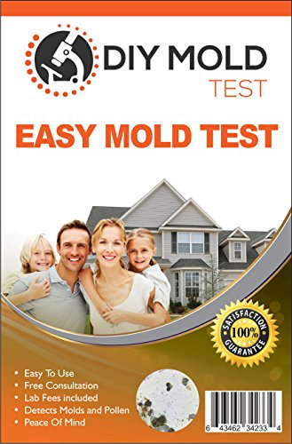 DIY Mold Test, Mold Testing Kit (3 tests). Lab Analysis and Expert Consultation included (Mold Surface)