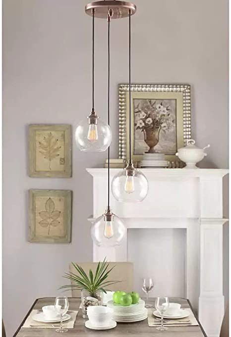 Globe Chandelier Centerpiece For Dining Rooms And Kitchen ...