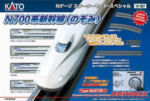 Review Kato N Scale N700