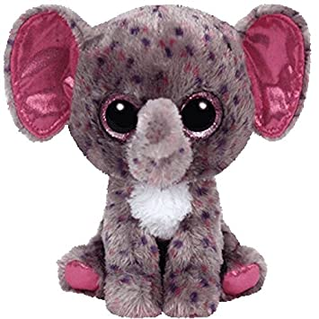 Amazon.com  Ty Inc Beanie Boo Plush Stuffed Animal Medium Specks Grey  Elephant 8