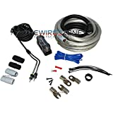 Raptor R5AK0 PRO SERIES - 3800W 1/0 AWG Amp Kit with RCA Cable
