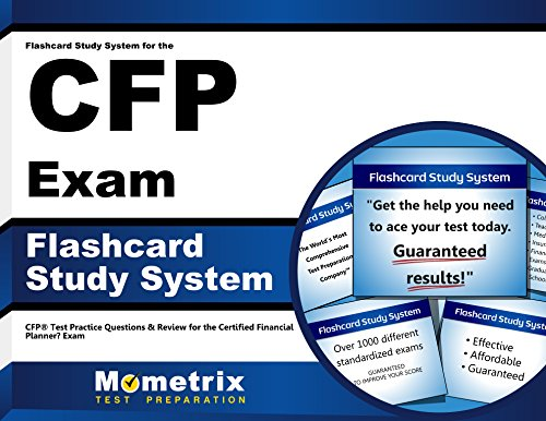 Flashcard Study System for the CFP Exam: CFP Test Practice Questions & Review for the Certified Financial Planner Exam (Cards)