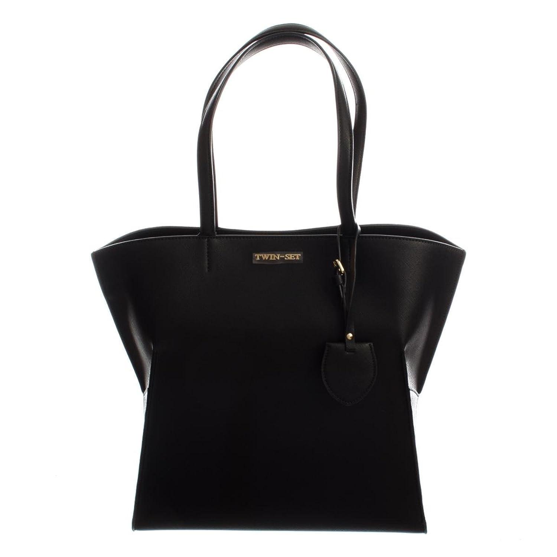Twin-Set Shopping Taglio Vivo damen, accessori: borsa a mano, schwarz