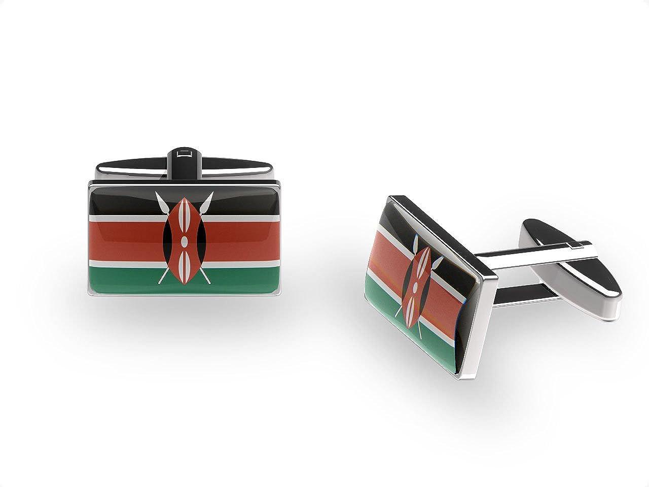 Cuffs N Collars (London) Shield Gemelos Kenia: Amazon.es: Joyería