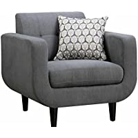 Coaster Home Furnishings 505203 Stansall Collection Chair, NULL, Grey