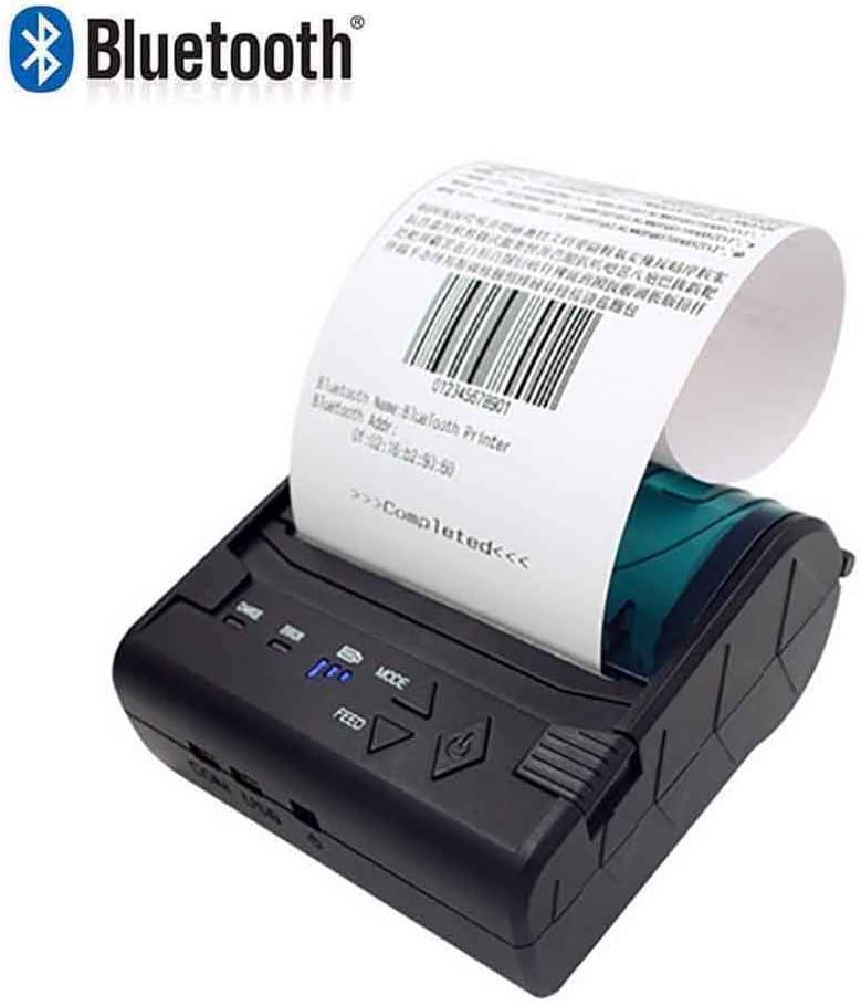 SDZSH 58Mm Mini Impresora Térmica POS-8003 Portátil Bluetooth ...