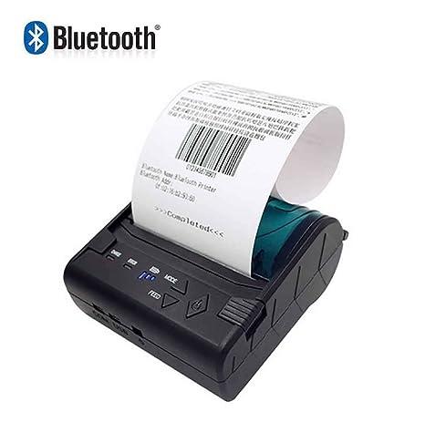SDZSH 58Mm Mini Impresora Térmica POS-8003 Portátil ...
