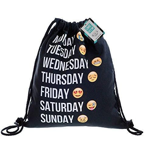 Days of the Week Emoji Bag