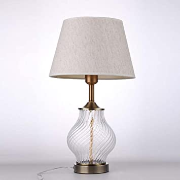 Lámpara de mesa, lámpara de escritorio moderna del vidrio ...