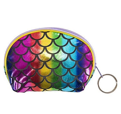 DollarItemDirect 5.5'' Mermaid Scale Coin Purse, Case of 288