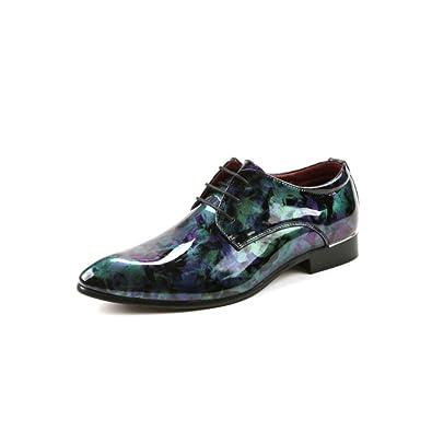 LYZGF La Jeunesse Des Hommes Printemps Et En Automne Des Chaussures Occasionnels De Mode Décontractée,Black-38