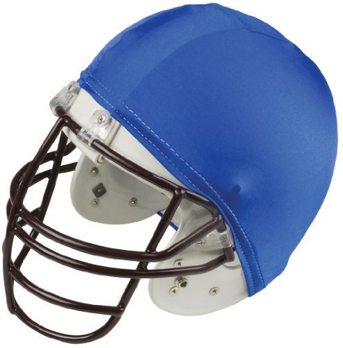 Champion Sports Football Helmet Covers Color: Blue (Kids Champion Slip)