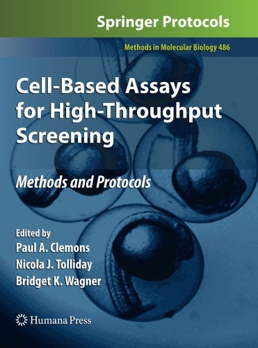 Cell-Based Assays for High-Throughput Screening: Methods and Protocols (Methods in Molecular Biology