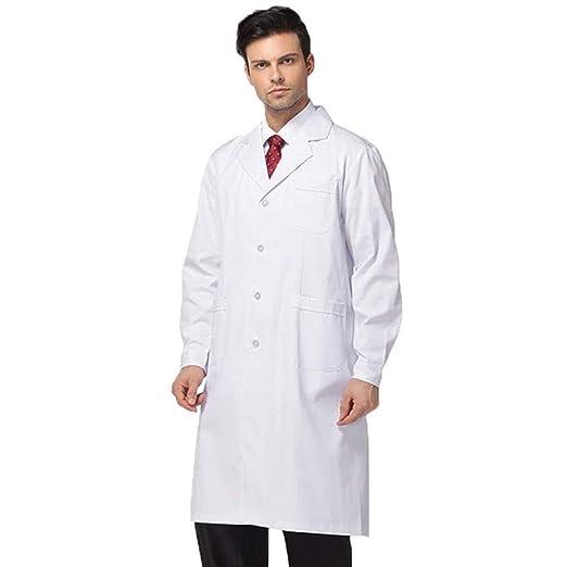 ESENHUANG Ropa Médica Camisas De Dentista Chaquetas De Laboratorio Hombres Y Mujeres Médicos Uniformes Farmacia Telas Médicas Especiales: Amazon.es: Ropa y ...