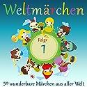 Weltmärchen 1: 50 wunderbare Märchen aus aller Welt Hörbuch von  div. Gesprochen von: Jürgen Fritsche