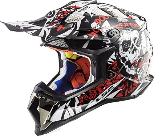LS2 Helmets Motorcycle & Powersports Helmet's Off-Road Subverter (Voodoo, XX-Large)