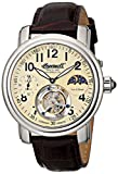Ingersoll Men's IN5306CR Lahota Tourbillon Analog Display Mechanical Hand Wind Brown Watch