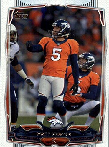 Matt Prater - Denver Broncos - 2014 Topps Football Card #132