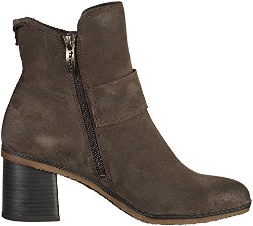 Tamaris1-25043-37-214 - botines de caño bajo Mujer , color marrón, talla 41 EU