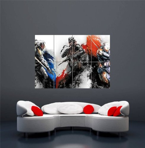 Xbox One Ps3 Ps4 PC Game Metal Gear Solid Giant New Art Print Poster