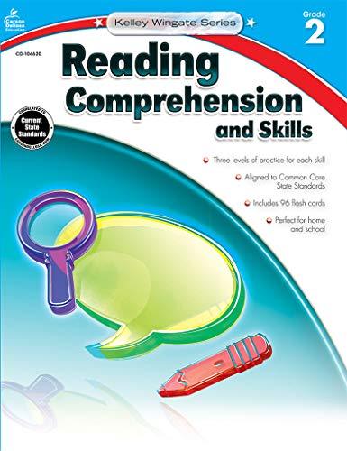 - Carson-Dellosa Kelley Wingate Series Reading Comprehension and Skills Book - Common Core Edition, Grade 2, Ages 7 - 8
