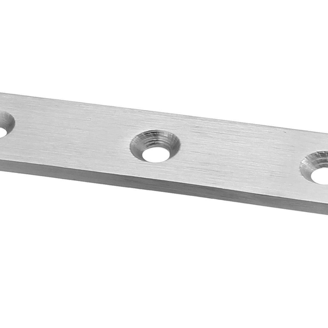 conector de soporte de soporte de esquina de reparaci/ón de fijaci/ón plana 2 piezas sourcing map Placa de reparaci/ón 245x20 mm