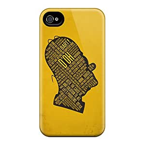 AlikonAdama Cases Covers For Iphone 6 - Retailer Packaging Text Simpson Protective Cases