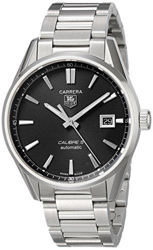 TAG Heuer Men s WAR211A.BA0782 Carrera Automatic Stainless Steel Bracelet Watch