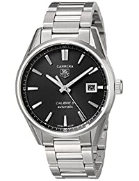 TAG Heuer Men's WAR211A.BA0782 Carrera Analog Display Swiss Automatic Silver Watch