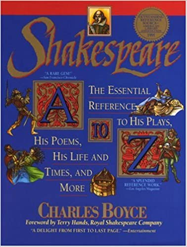Amazon shakespeare a to z the essential reference to his plays amazon shakespeare a to z the essential reference to his plays his poems his life and times and more 9780385313612 charles boyce books fandeluxe Images