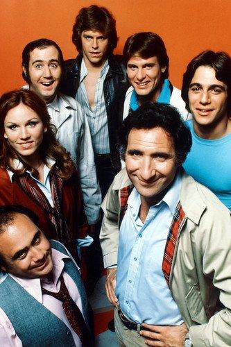 Taxi Cast (Taxi Danny Devito Andy Kaufman Tony Danza Judd Hirsch & Cast 24x36 Poster)