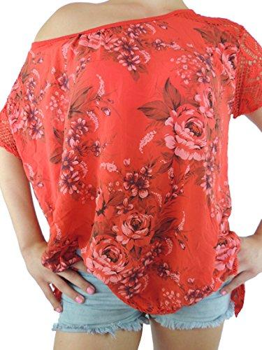 Nowingline - Camisas - para mujer rojo