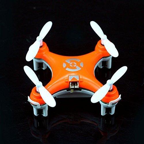 Cheerson CX-10 Mini 29mm 4CH 2.4GHz 6-Axis Gyro LED RC Quadcopter Bright...