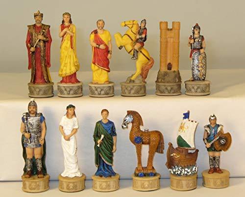 Troy vs. Sparta Chessmen