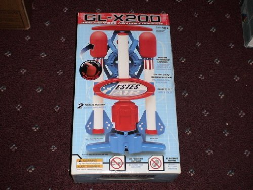 GL-X200 Ground Launch Air Rocket, Ages 10 years+ by Estes