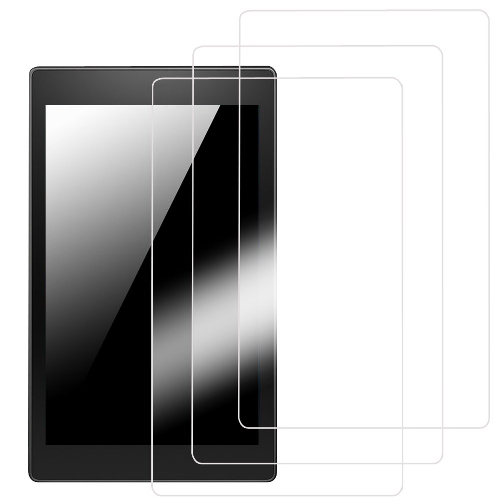Fintie 3-Pack Ultra-Clear HD Screen Protector for 10.1'' Android Tablet iRULU eXpro X1 Plus (X1Plus)-X10, Dragon Touch A1 Plus / A1x Plus 2016 Edition, iView SupraPad 10.1 (Check Compatible List Below)