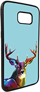 Abstract art - Deer Printed Case forGalaxy S7 Edge