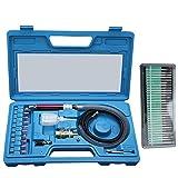 1/8'' Pneumatic Micro Air Pencil Die Grinder Polishing Engraver Tool Kit