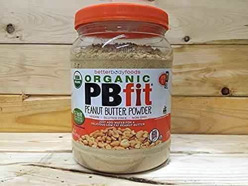 BetterBody Foods PB Fit ''USDA Organic'' Powder, Peanut Butter, 30 Ounce (Pack of 6) by BetterBody Foods