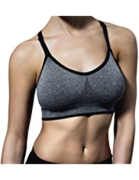PUMA | Women's Seamless Sports Bra | Removable Cups
