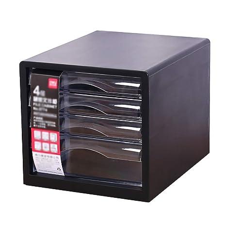 File cabinets Archivador, archivador de Cuatro Capas de plástico, archivador de Documentos A4,
