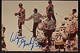 RARE Wayne Gretzky Oilers Autographed Action Photo 1 JSA Authentic VINTAGE 16C