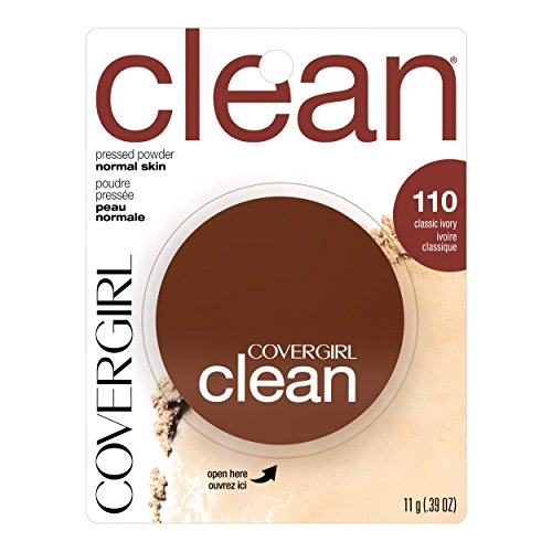 COVERGIRL Clean Pressed Powder Foundation Classic Ivory .39 oz.