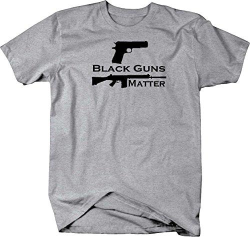 Tactical Military Surplus Black Guns Matter Pistol 1911 9mm AR15 Shooting Mens T Shirt - 4XL