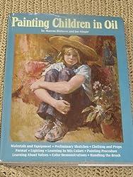 Painting children in oil