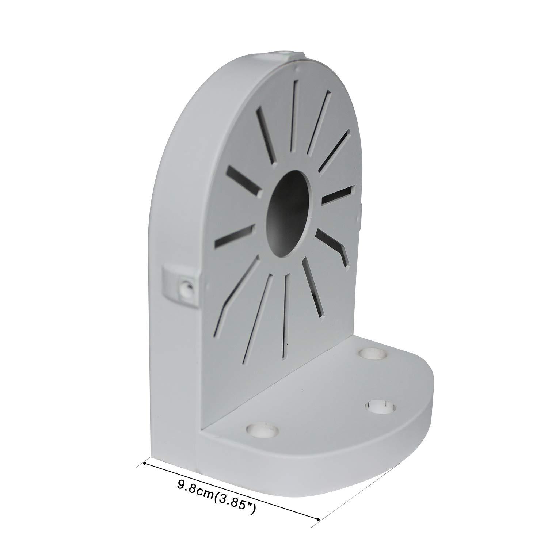 SIBO/® Wand-Deckenhalterung f/ür Dome-Kamera Kunststoff-Halterung Adapter f/ür Dome-Kamera Wand Installation Pack von 2 SB-BK005