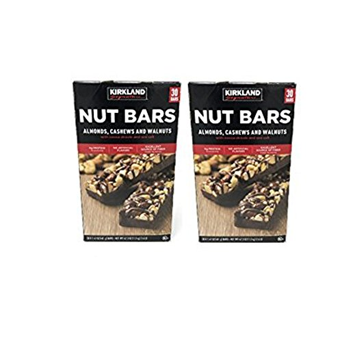 Kirkland Signature Nut Bars (Total 60 Bars, 30 Bars in each box)
