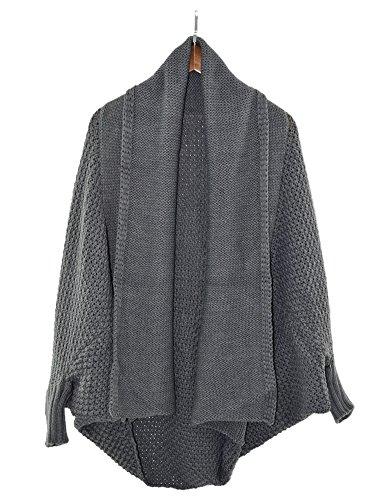 Certeux - Poncho - Cape - Femme Grey#142